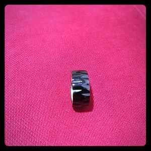 Jewelry - 🎁 Black Stainless Steel Ring.